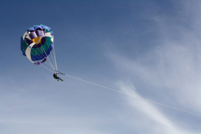 Off-Road Parasailing Photo Gallery