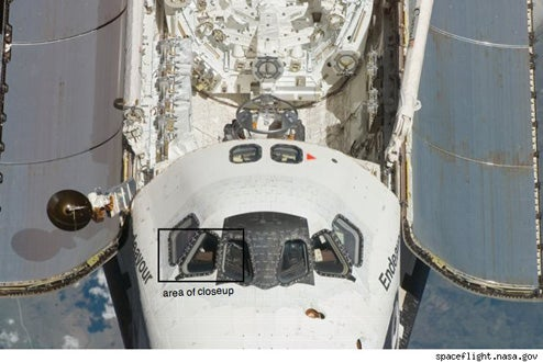 iPod Pictured Onboard Space Shuttle Endeavour