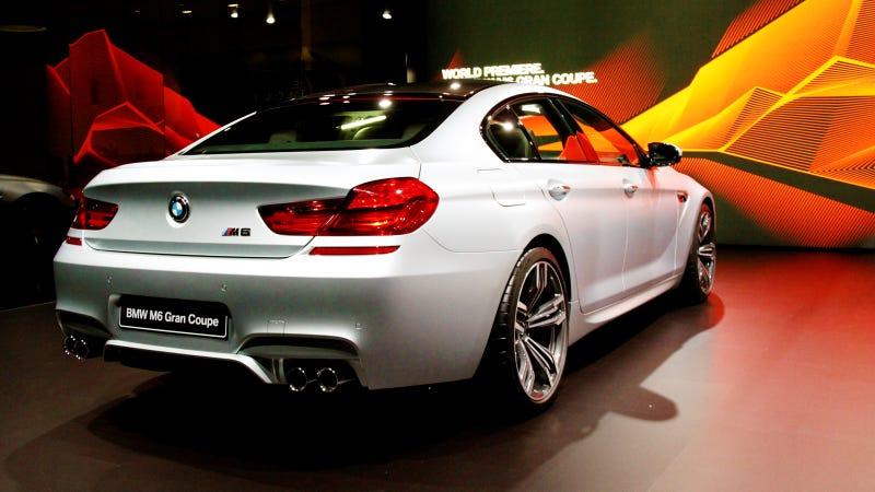 2014 BMW M6 Gran Coupe: Daaaaaaaamn