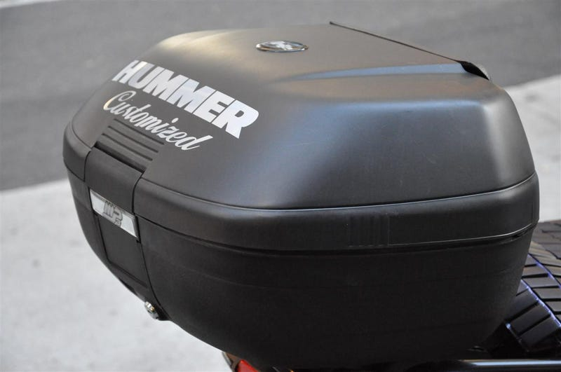Hummer-Branded Piaggio MP3 Pushes Brand Even Smaller