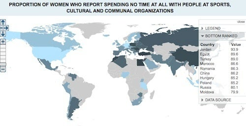 Cool Map Shows How Much Fun Girls Are Having
