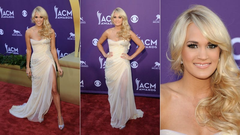 Someone Rolled Around in Glitter Before Heading to the Country Music Awards