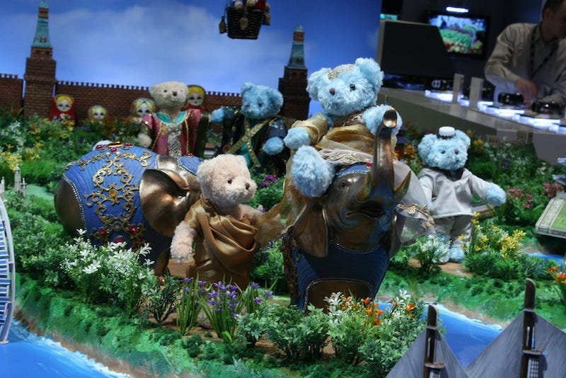 In Samsung's World, We've All Been Eaten by Adorable Robot Bears