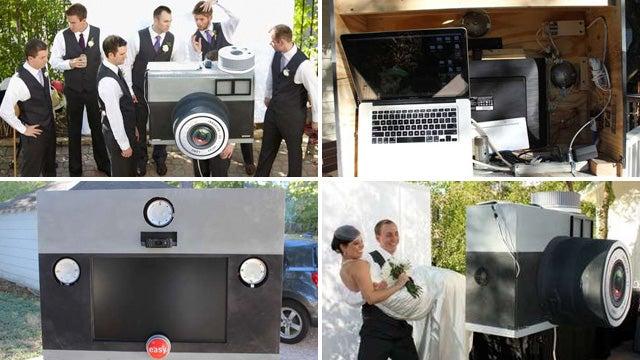Giant DIY Lomo Captures Every Drunken Wedding Photo Op