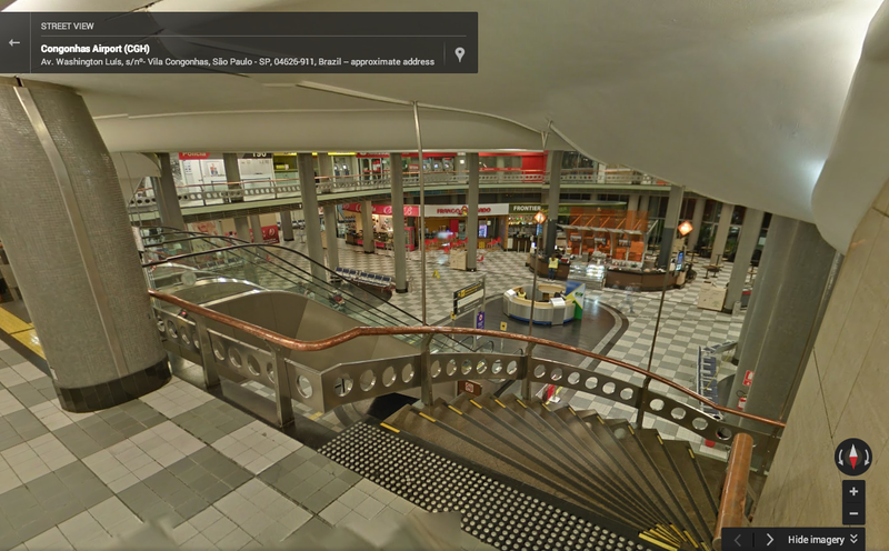 Google Street View Now Shows You the Inside of Airports
