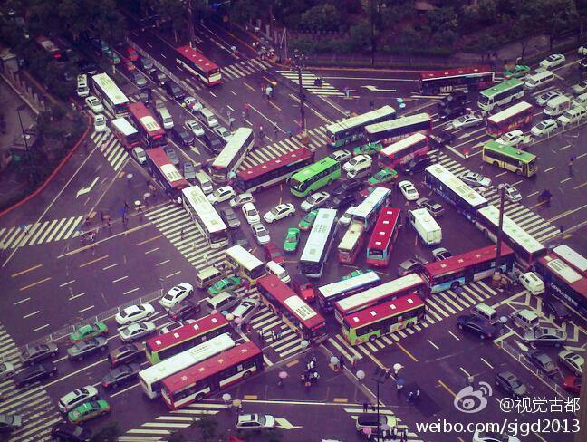 How Did This Mind-Numbing Chinese Traffic Jam Even Happen?