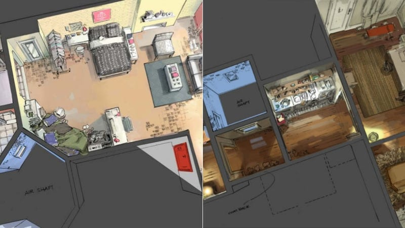 Floor Plans of the Girls Apartments Seem Almost Believable