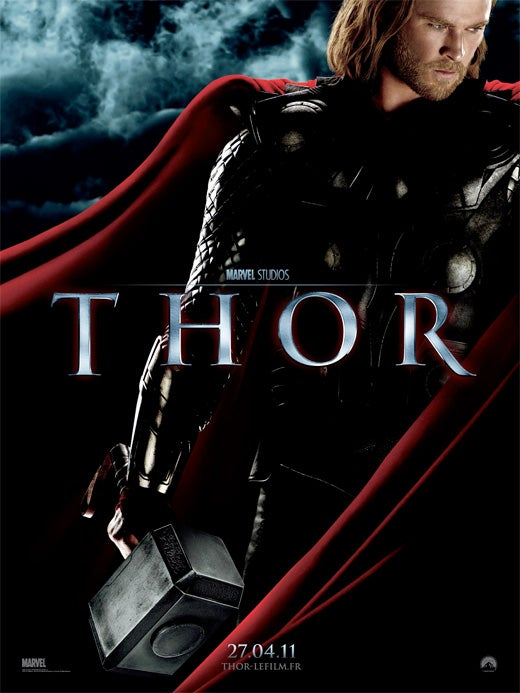 French Thor Poster