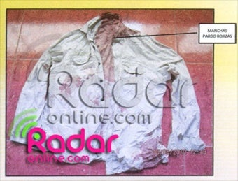 Pictures Of Joran's Bloody Shirt Released