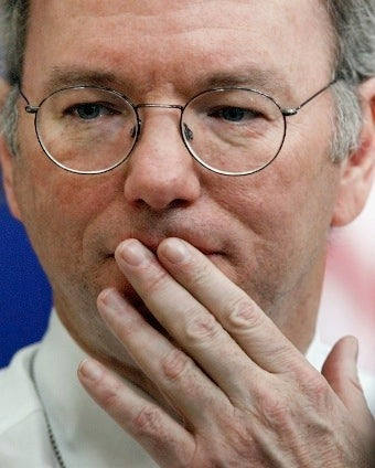 Eric Schmidt Bullied into Submission Twice in One Day