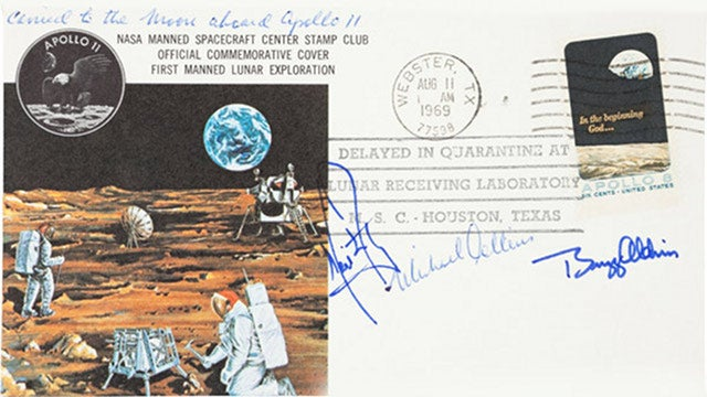 Neil Armstrong's Postcard From the Moon
