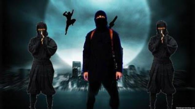 Japanese twitter users stand up to isis with a photoshop meme