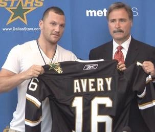 A Short, Strange Lesson In NHL Economics, With Professor Sean Avery
