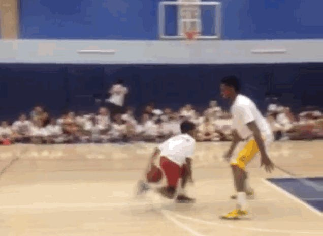 Swaggy P Juked Out Of The Gym By Little Kid