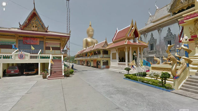 Google Street View Is Blurring the Faces of Ancient Gods