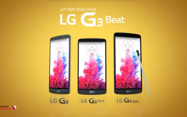 LG Leaks Mammoth G3 Stylus Phablet in Official Video