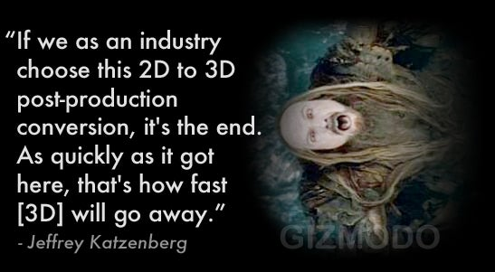 Bad 3D Will Be the Death of 3D
