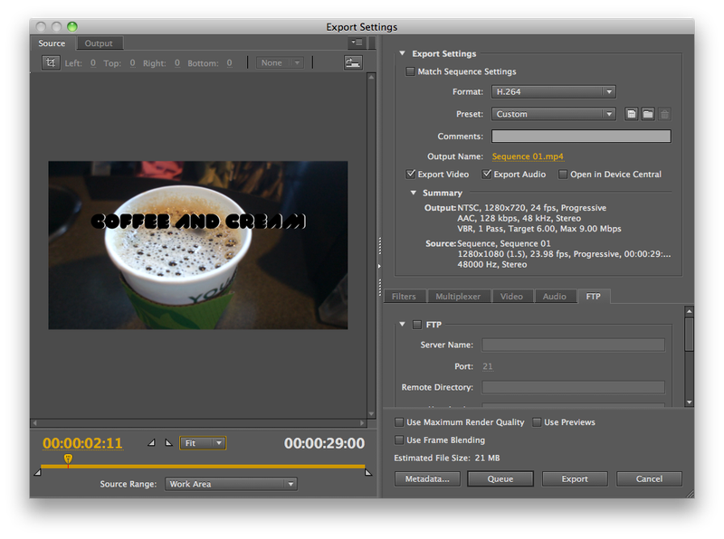 The Basics of Video Editing Part IV: Preparing and Encoding Your Video for Delivery