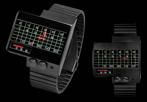Cyber Heartbeat Watch Tells Time Through EKG
