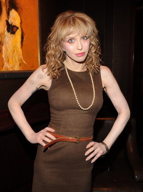 Courtney Love Worries About Her Wikipedia