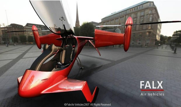 Falx Promises Private Tilt-Rotor Aircraft. Verdict: Improbable