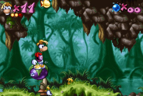 Rayman Adventuring To DSiWare