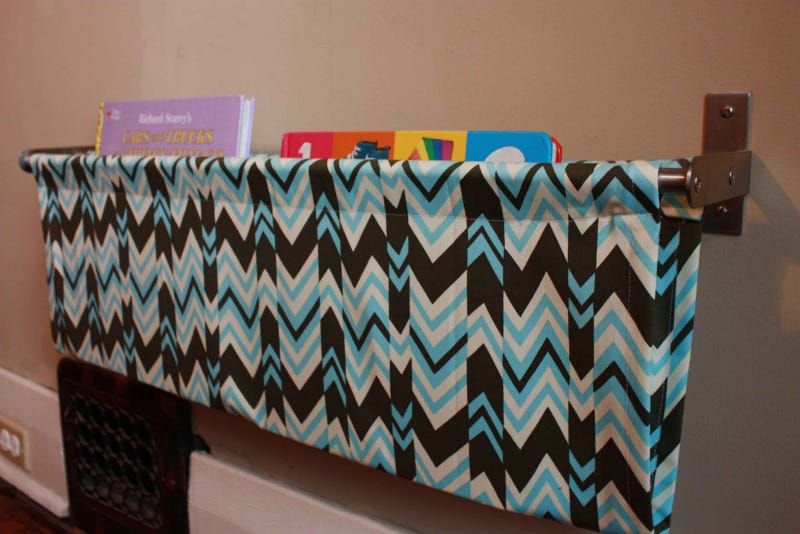 Make a Book Sling with a Towel Rail