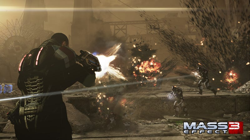 BroShep Takes on Humans, Reapers and His Own Conflicted Longings in These Mass Effect 3 Screenshots