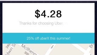 The World's Most Pointless Uber Ride Costs $4.28
