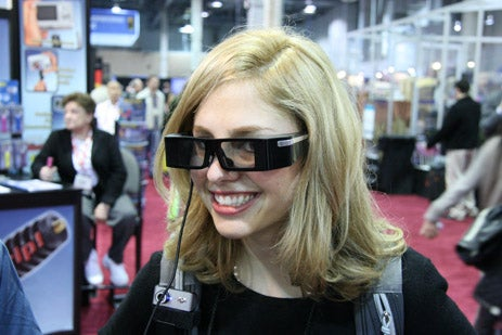Eyes-on With Lumus Minority Report Projection Glasses