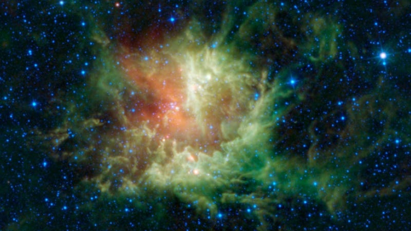 Behold the Pacman Nebula—now with teeth!