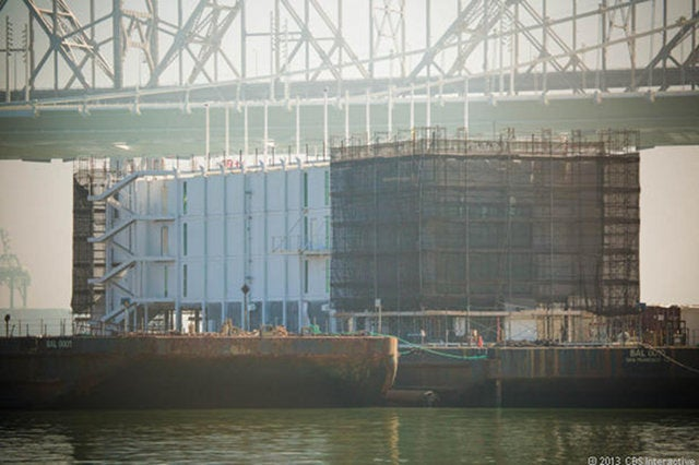 What the Hell Is Google Building On This Massive Barge?