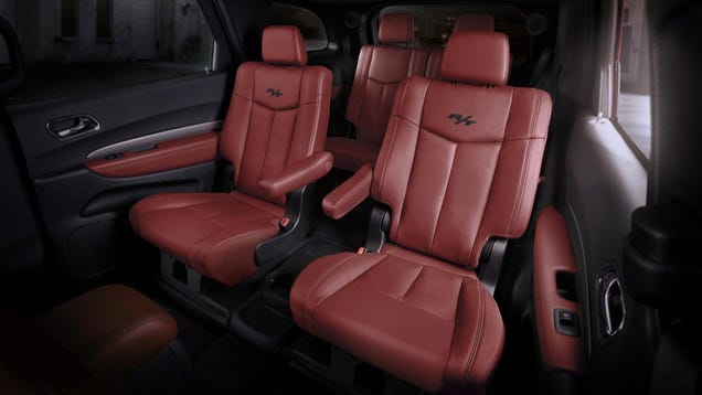2015 Dodge Durango Looks Awesome With The Challenger 39 S Red Interior