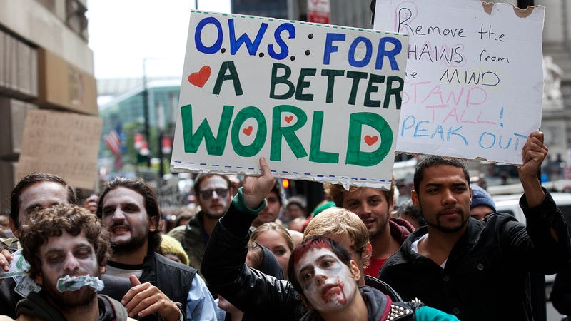 The Occupy Wall Street Protest Goes National