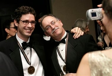 How Joshua Ferris And Jim Shepard Steeled Themselves To Lose The National Book Award