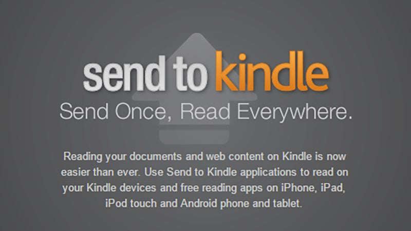 Save Websites On Your Kindle to Catch Up on Reading
