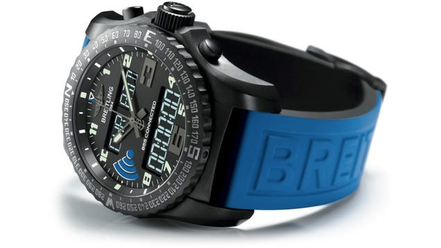 Breitling's First Smartwatch Isn't Overloaded With Functionality