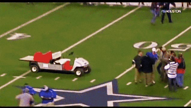 Danny Amendola's Father Sues Cowboys Stadium Over Runaway Golf Cart