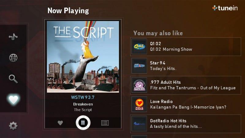 Vita App Review: TuneIn
