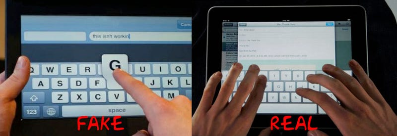 The iPad's Onscreen Typing Solution Isn't a Solution At All