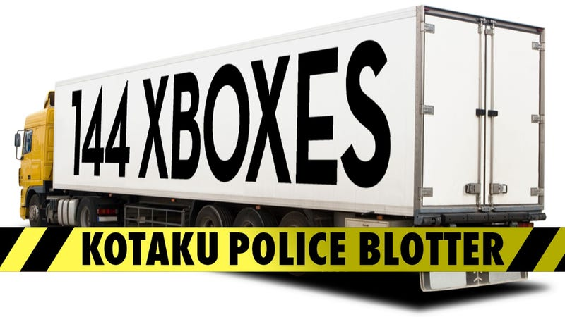 Trucker Drives Off With 144 Xboxes, Gets Caught Trying to Flee Country