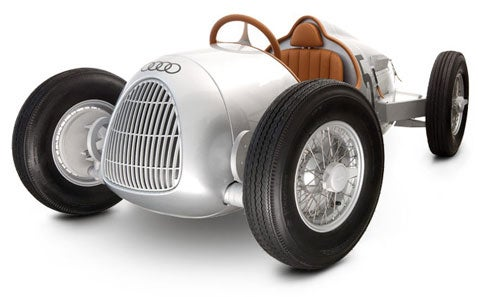 Audi Type C Roadster, Pedal Car for Richie Rich Kids