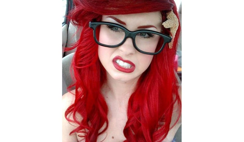 What The Hipster Little Mermaid Looks Like IRL