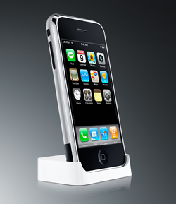 iPhone Dock On Apple Site Revealed, Missing Bluetooth Headset Slot