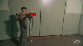 Can A <i>Doom</i> Marine Really Carry Nine Weapons? <i>Mythbusters</i> Finds Out.