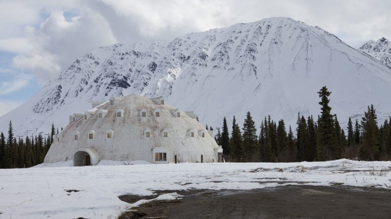 Nobody Knows What To Do With This Insane Igloo Hotel In Alaska