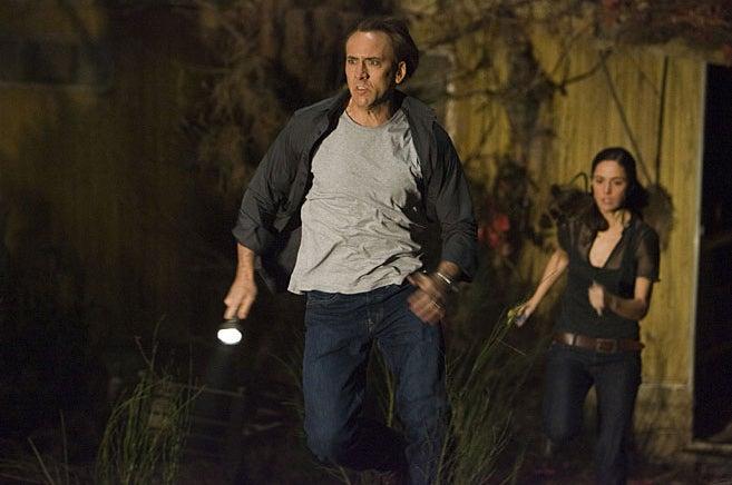 Nicholas Cage Takes On Sept. 11