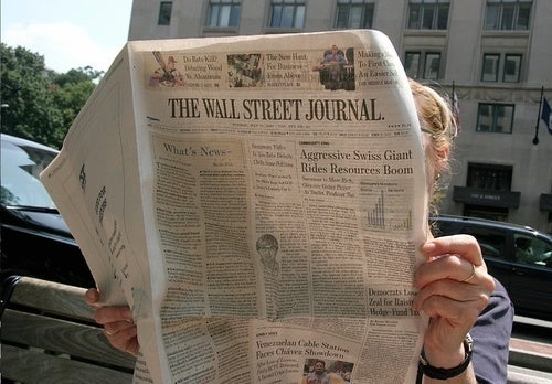 Wall Street Journal Takes on Local News