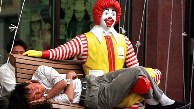 Ronald McDonald Loses #1 Spot To Jared The Subway Guy