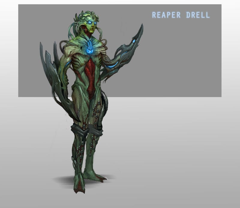 What if Mass Effect's Reapers Had Captured the Useless Species Too?